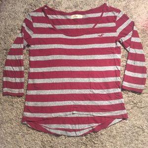 Midi-Sleeve Hollister Shirt
